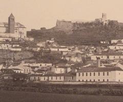 Imagen de Vélez-Málaga entre finales del siglo XIX y principios del XX.