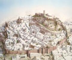 Recreación de la ciudad musulmana. / Fran Torres.