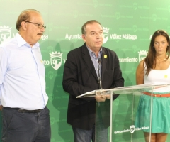 El alcalde, junto al presidente de Afadax (izq).