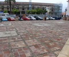 Imagen de la plaza de la Constitución.