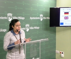 Piña, durante la rueda de prensa de presentación de los cursos.